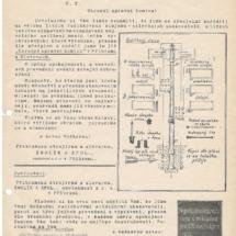 Reklamní dopis silničních ukazovatelů z roku 1928