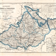 Cestovní mapa Moravy a Slezska, 1912, inv. č. 20.177