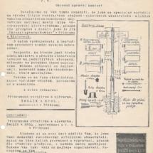 Reklamní leták firmy, 1928, inv. č. 20.242