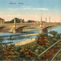 Přerov - Tyršův most, 20. léta 20. století, inv. č. 20.539