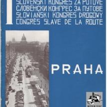 Brožura I. Slovanský silniční kongres, 1935, inv. č. 20.831