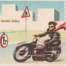 Bezpečnost silničního provozu, 60. léta 20. století, inv. č. 20.895