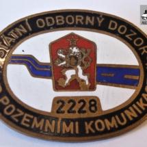 Odznak Státní odborný dozor, 80. - 90. léta 20. století, inv. č. 30.2