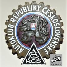 Odznak Autoklub Republiky československé, 30. léta 20. století, inv. č. 30.617