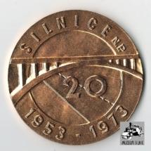 Medaile Čestné uznání za dlouholetou a příkladnou práci, 1973, inv. č. 30.768