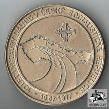 Pamětní medaile, 1977, inv. č. 30.823