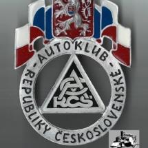 Odznak Autoklub Republiky československé, 30. léta 20. století, inv. č. 30.830