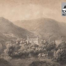 Zámek Loučná nad Desnou, grafický list, 1857, inv. č. 70.98